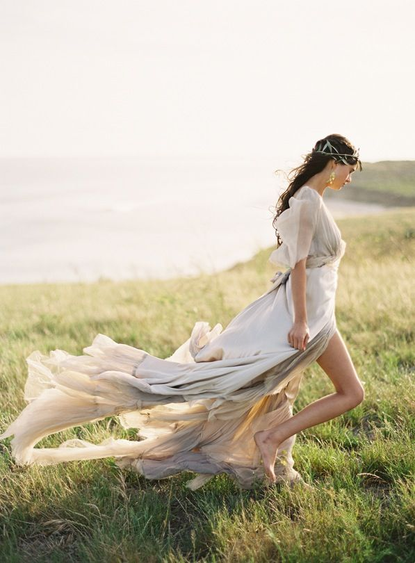 Greek Goddess Greek Goddesses Grecian Wedding Inspiration Samuelle Gown