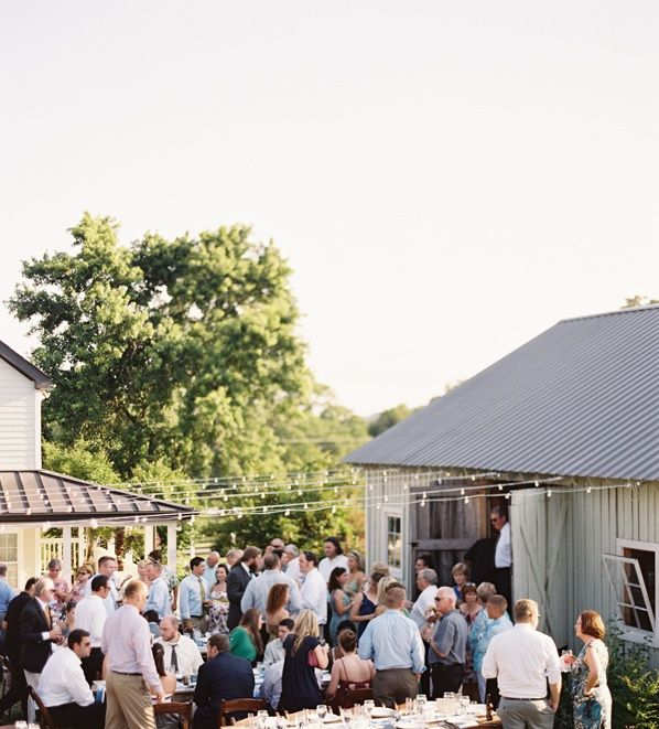 Nashville Outdoor Wedding Reception Venue