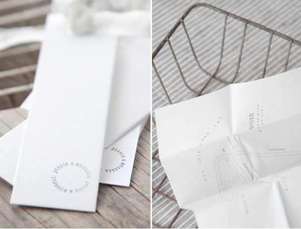 Paper Goods Wedding Ceremony Clean White Natural