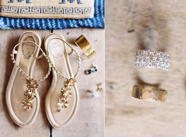 Wedding Gold Shoes Accessories Jewelry