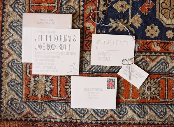 Wedding Letterpress Invitations Stationary Custom Paper Goods