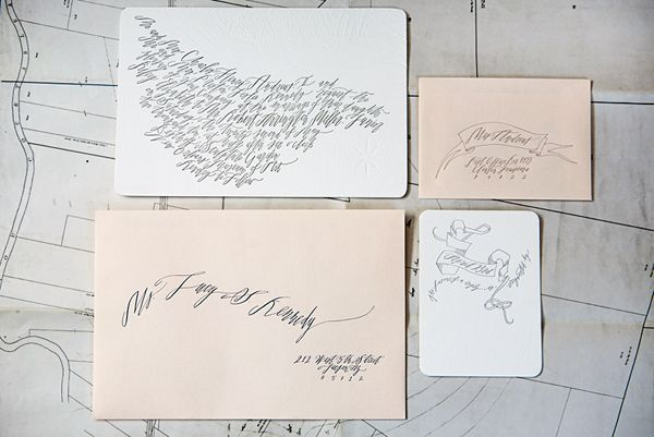 Addressing Wedding Invitations Betsy Dunlap Calligraphy