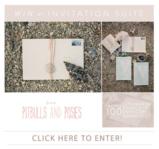 Win an Invitation Suite from Pitbulls and Posies