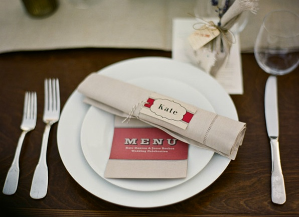 Rustic Ojai Garden Wedding Paper Goods Escort Cards Place Setting