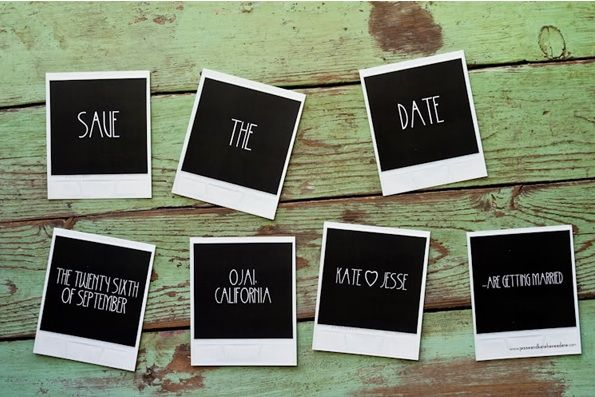 Rustic Ojai Garden Wedding Save The Date