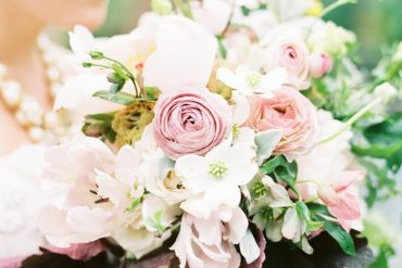 Spring Wedding Colors Pink Dogwood White Spring Wedding Bouquet Saipua