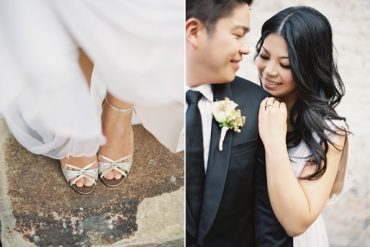 Black And White Wedding Shoes Boutonniere