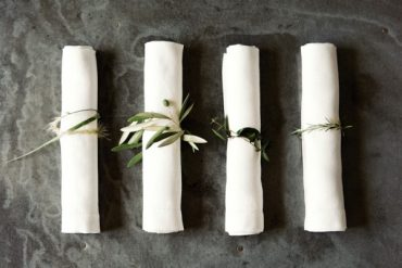 DIY Rustic Wedding Napkin Rings