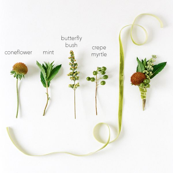 Wedding Flowers Corsage Ideas: DIY Wedding Boutonniere