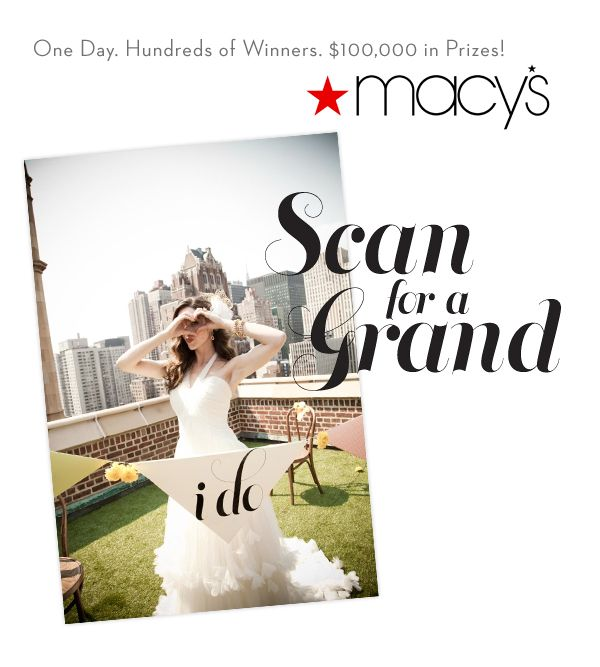 Macy's Scan For A Grand