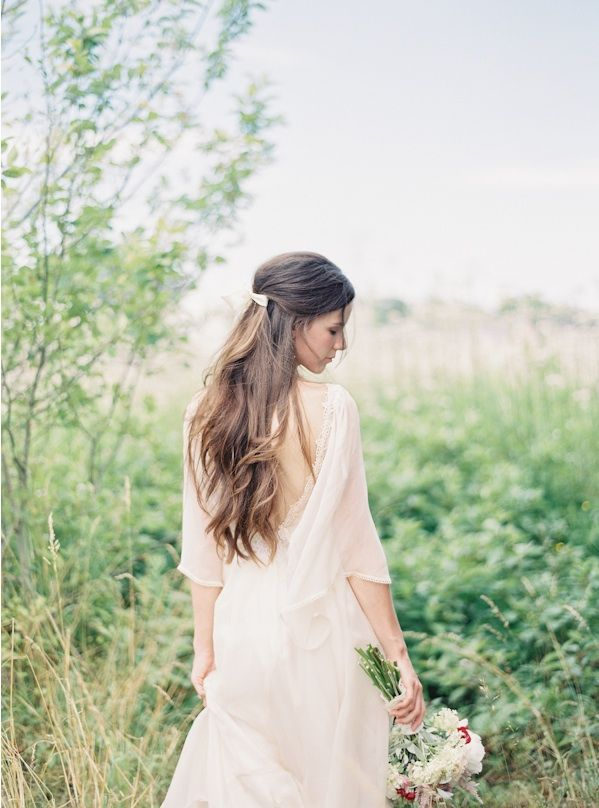 natural-east-coast-maine-wedding-half-up-half-down-wedding-hair