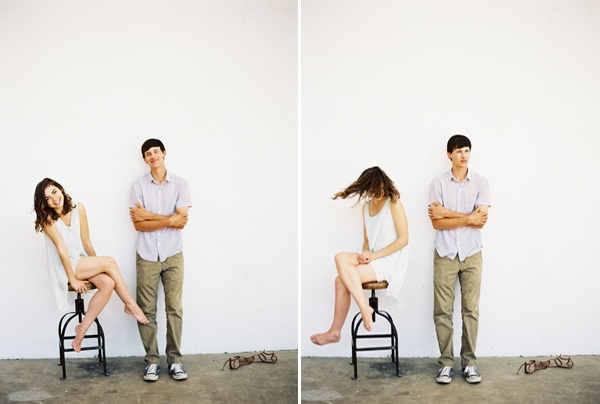 natural-engagement-photos-stool-spin-blue-white
