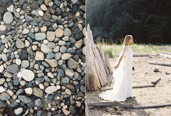 Peaceful Seaside Wedding Inspiration