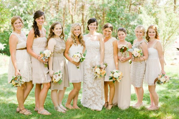 Can You Wear Cream To A Wedding: A Fall Wedding At Blue Lake Ranch