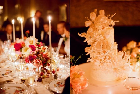red-wedding-decor-white-wedding-cake