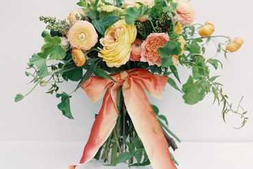 Summer Wedding Colors Bouquet