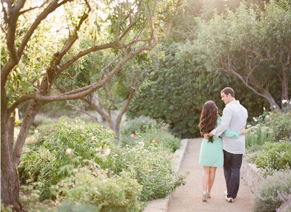Whimsical Ranch Engagement Field Outdoors Beauty