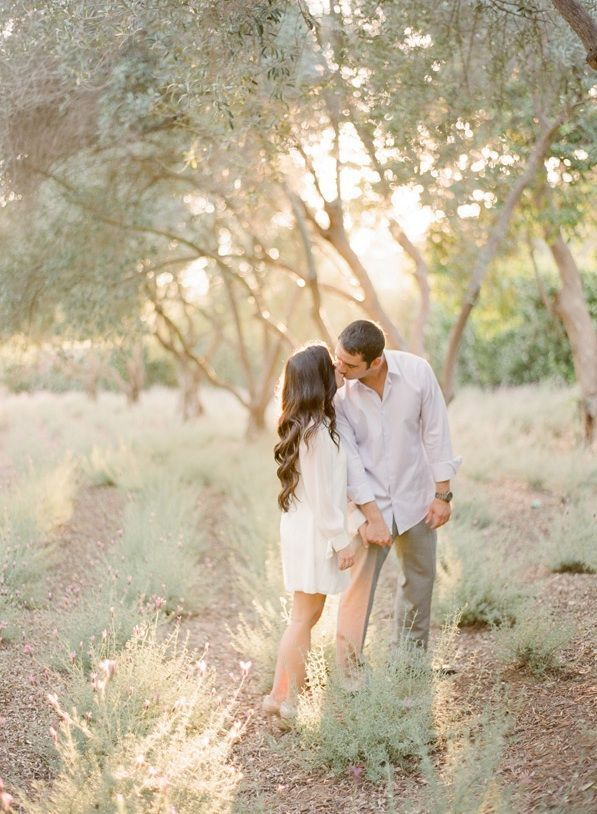 Whimsical Ranch Engagement Wedding Hairstyles For Long Hair