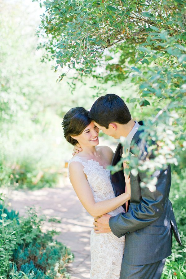 Delicate Lace Outdoor Wedding