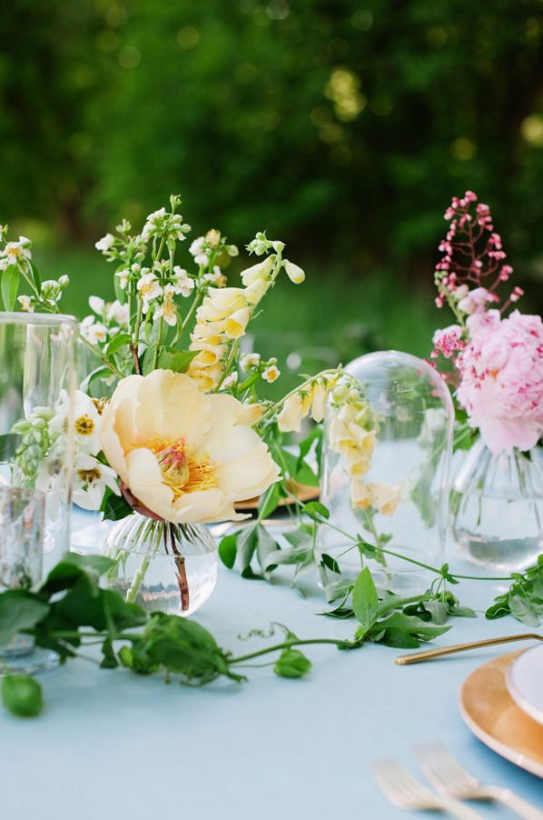 outdoor wedding by the river