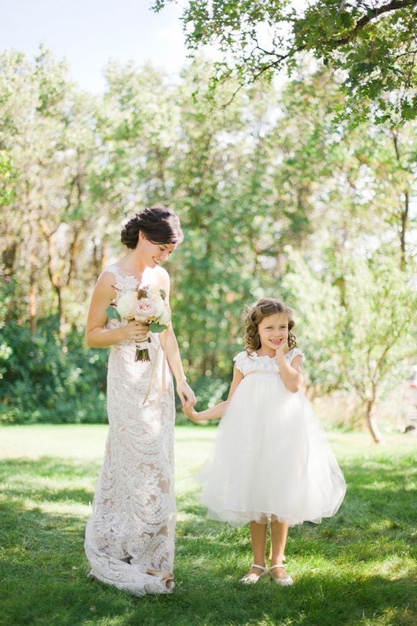 casual-flower-girl-dresses - Once Wed