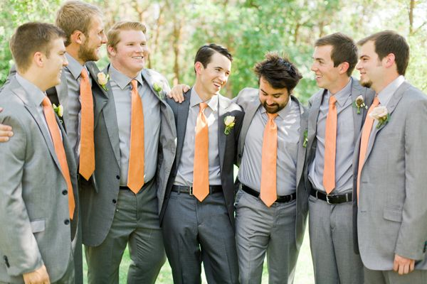 gray-groomsmen-suits