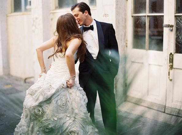 Elegant Black Tie Uk Wedding: New Orleans Black Tie Wedding