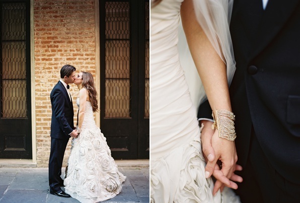 New Orleans Black Tie Wedding