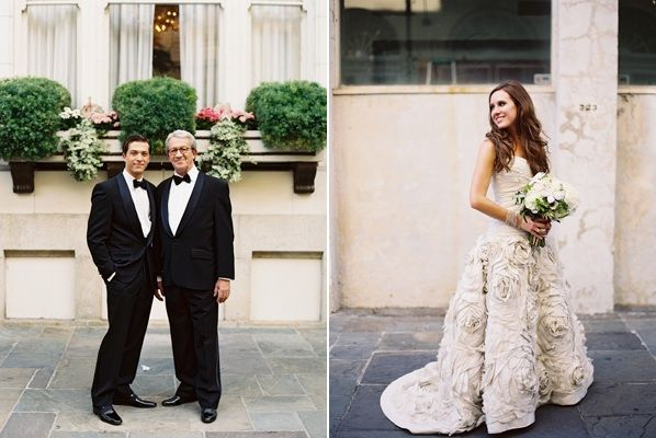 New orleans black tie wedding once wed for New orleans wedding dresses