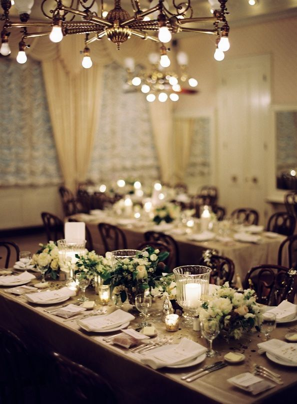elegant wedding reception decorations romantic decoration. Black Bedroom Furniture Sets. Home Design Ideas
