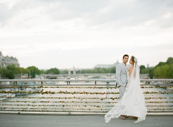 Romantic Parisian Wedding