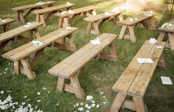 They Wed Under A Tree Of Soft Cascading Orchid Petals With Tented Outdoor Wedding Reception To Follow