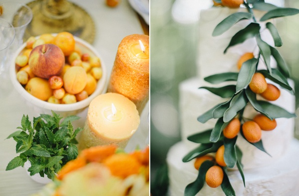 Orange Wedding Decorations