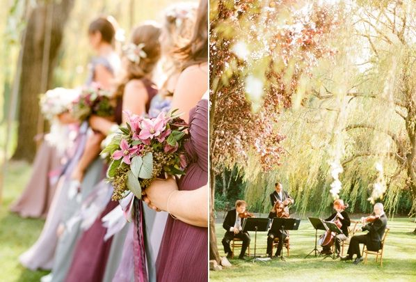 Outdoor Wedding Ceremony Garden Wedding