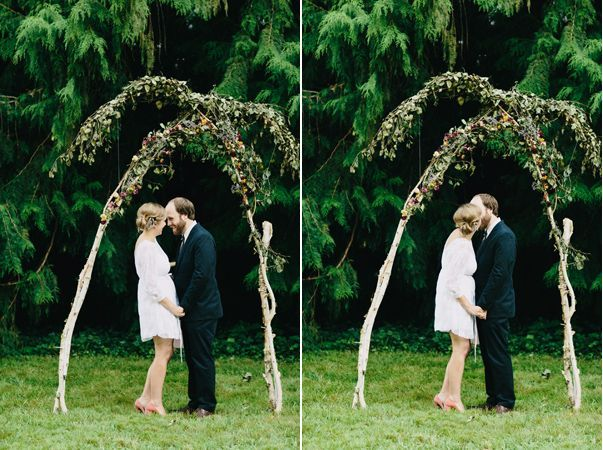 Outdoor Wedding Ceremony Arch Ideas