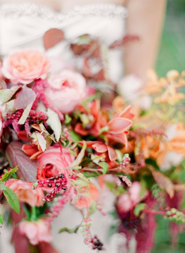 Elegant Fall Wedding Colors Ii Once Wed