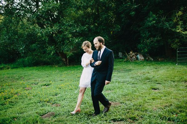 Portland Forest Outdoor Wedding