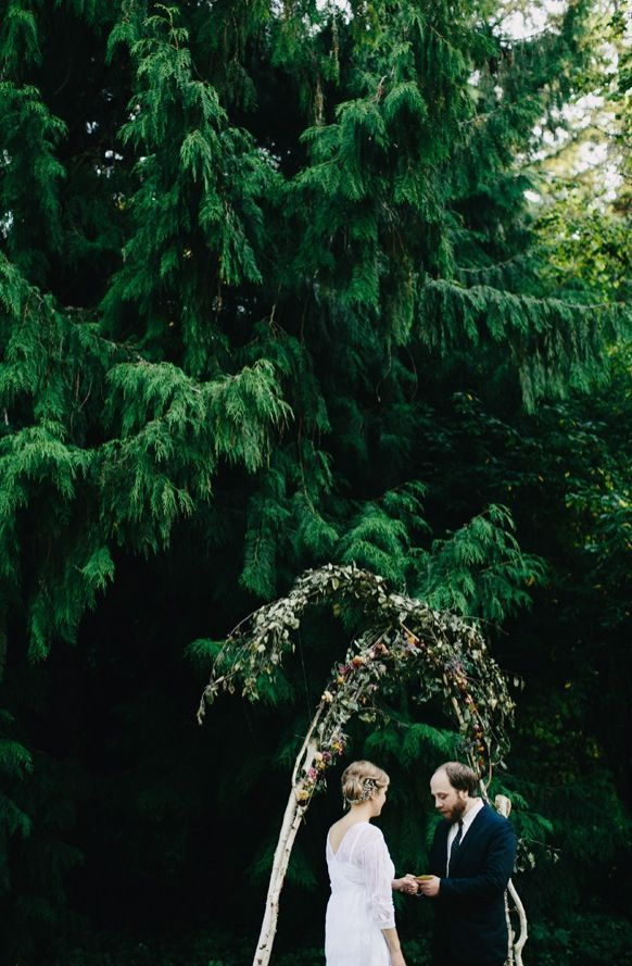 Portland Outdoor Wedding Ceremony Ideas