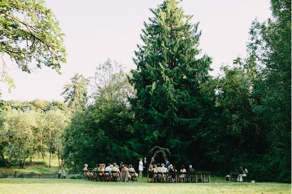 Simple Outdoor Wedding Ceremony Ideas