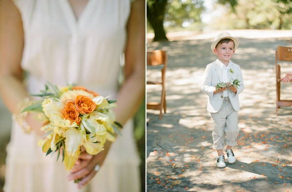 Yellow Rustic Wedding Bouquet