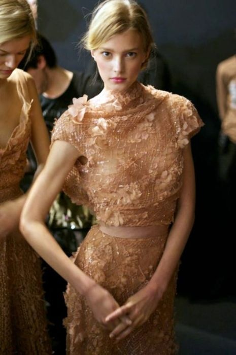 elie saab rose bridesmaid dress