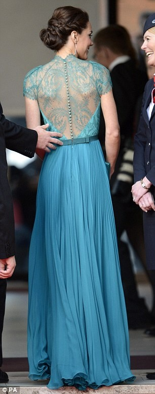 kate middleton teal dress