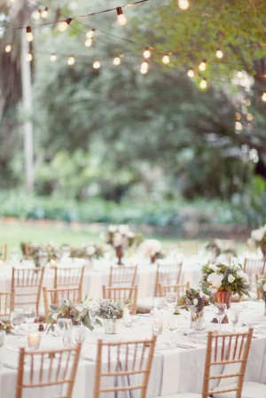 outdoor estate table wedding