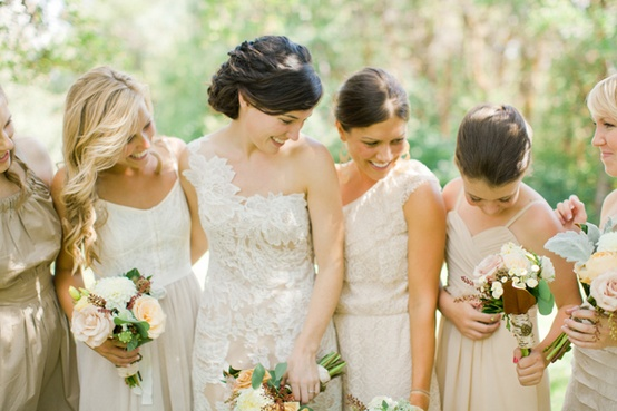 a fall wedding at blue lake ranch bridesmaid dress