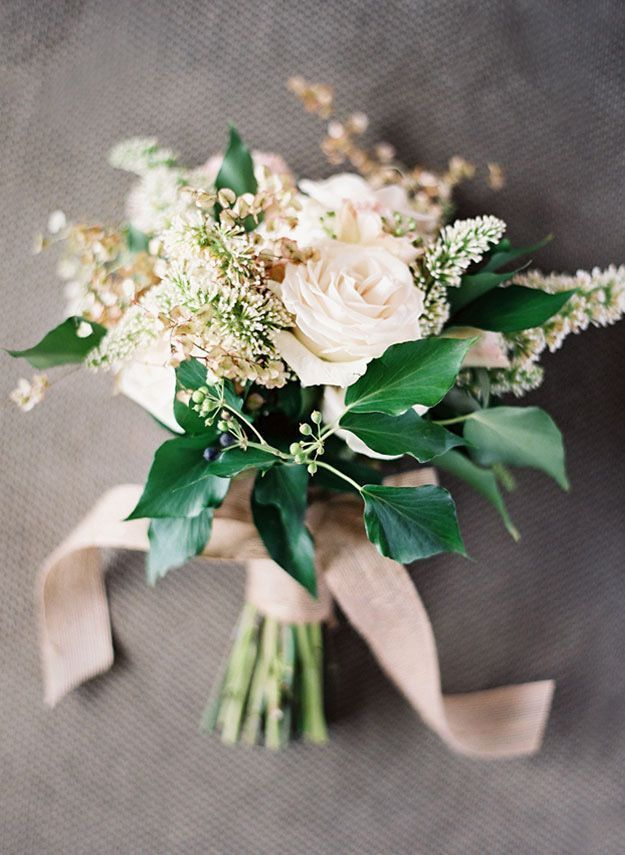 a-formal-engagement-bouquet - Once Wed