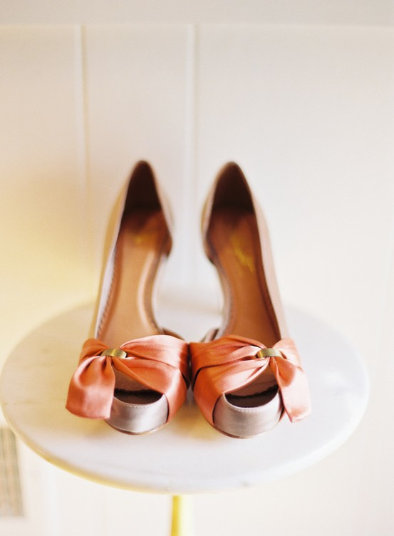 airplane hanger wedding bride shoes