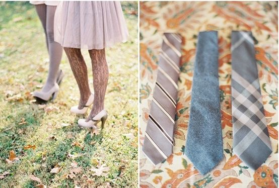 airplane hanger wedding ties