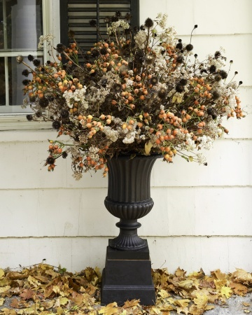 autumn wedding ceremony decoraitons