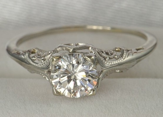 beautiful antique wedding ring