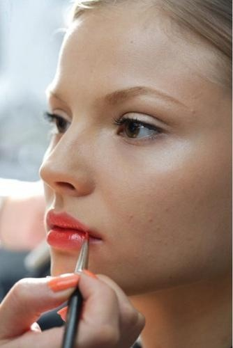 beauty note peachy keen makeup trends 2012